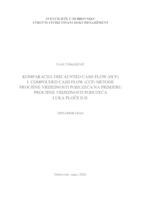 prikaz prve stranice dokumenta Komparacija CCF i DCF metode procjene vrijednosti poduzeća na primjeru procjene poduzeća Luka Ploče d.d.